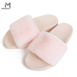 54b5ce76a2d7 Cheap Pink Fuzzy Slippers