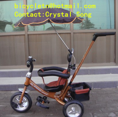 2014 Canton fair Booth No.: 14.1-J-08 Hebei Tieniu factory 4 in 1 baby tricycle trike good quality more models supply