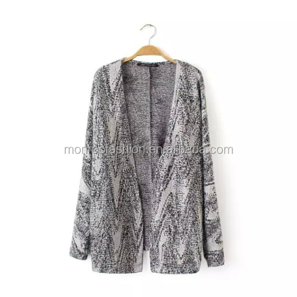 MONROO fashion new wholesale sweater coats ladies' clothing
