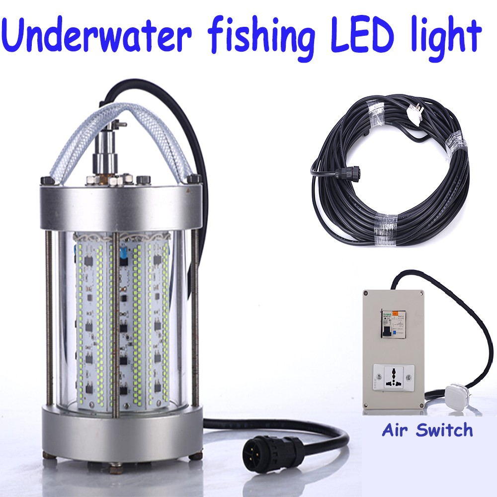 underwater marine fishing light above water fishing lamp led fish, Reel Combo