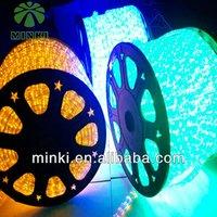 2014 Minki new romantic led decoration flexible rope lightings