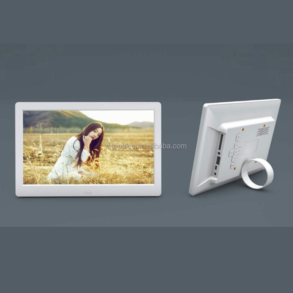 Nueva llegada 10 pulgadas hd vídeo marco de fotos digital, montado ...