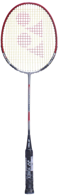 Yonex Muscle Power 600 Badminton Racquet, U-G4 (Silver/Red)