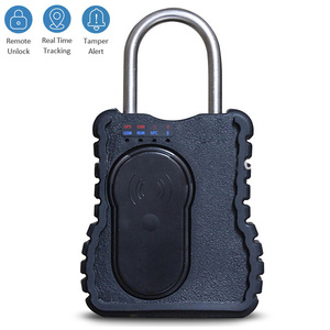 intelligent electronic lock for containers heave duty security padlock trailer gps tracking device