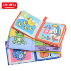Zhorya EVA vinyl educational toys color change kids custom baby bath book