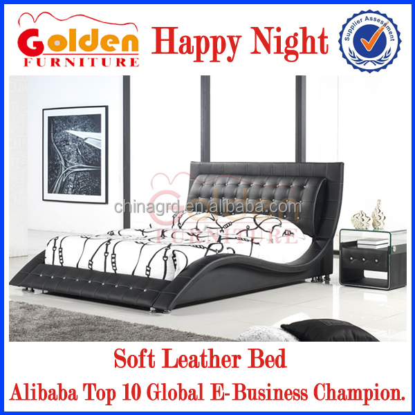 Italian Faux Leather Sleigh Bed Wholesale, Sleigh Bed Suppliers   Alibaba