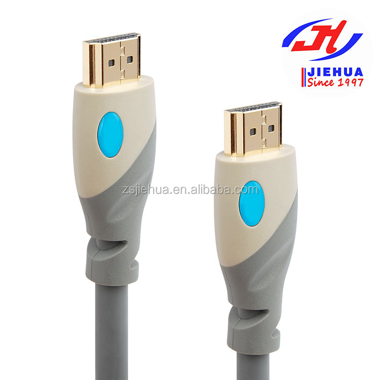 PVC Injection 19+1 3D 4K*2K 2160P Gold plating HDMI to scart cable Type A HDMI cables