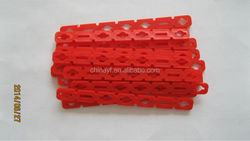 red plastic popsicle sticks