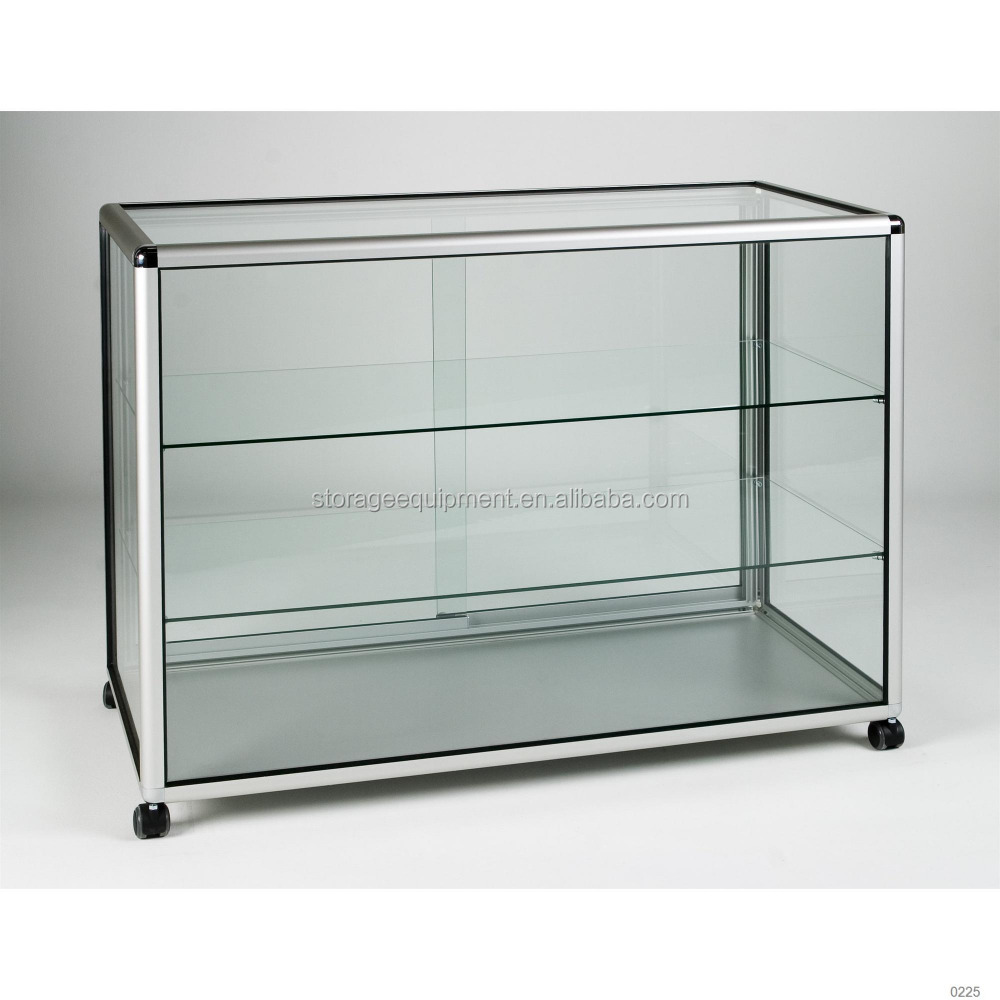 Antique Wooden Glass Display Cabinet, Antique Wooden Glass Display ...