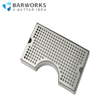 metal drip tray stainless steel 304