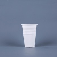PP translucent wholesale cheap bulk disposable plastic tea cup