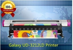 New 3.2m Galaxy Dx5 print head eco solvent printer