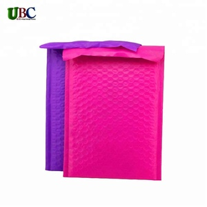 wholesale pink poly bubble mailers