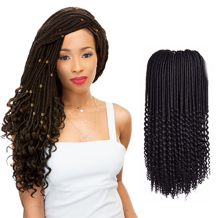 Zoesoul Hair 18 45cm 20stands Janet Collection Faux Locs Crochet