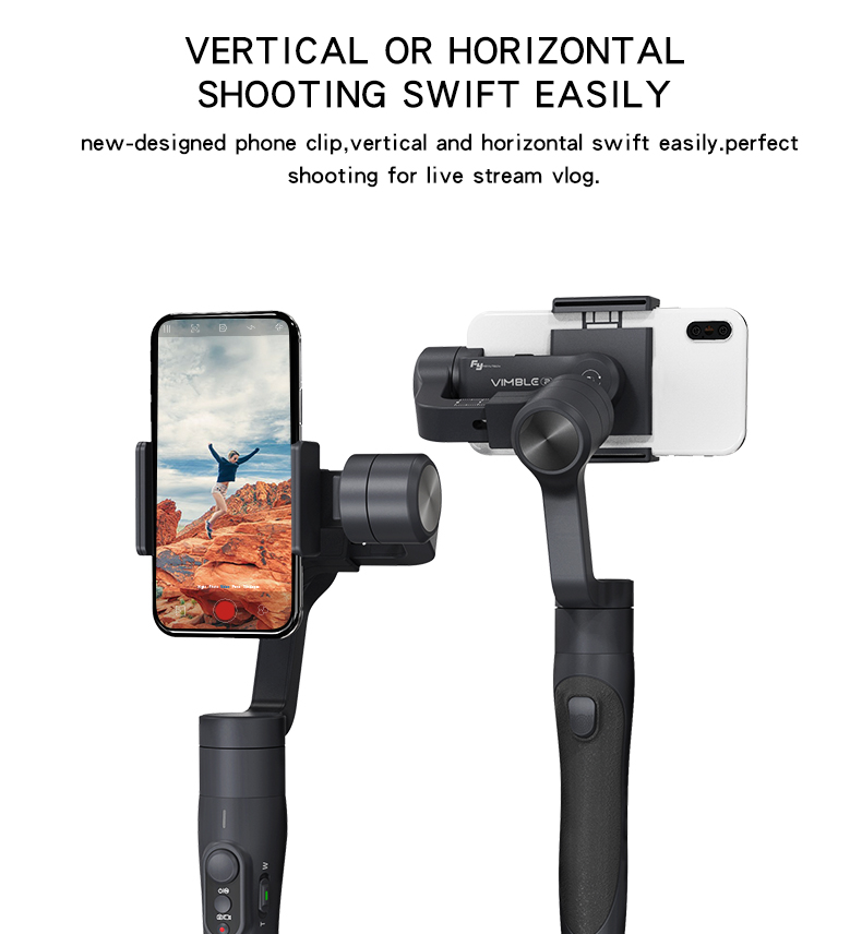 Feiyu vimble 2 vimble2 Smartphone 3-Axis Handheld Gimbal Stabilizer VS Zhiyun Smooth Q and DJI Osmo mobile 2