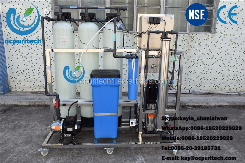Prices of Industrial 250lph RO System Water Purifying Machines