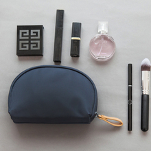 Custom Elegant Plain Ladies Handy Cosmetic Make-up Clutch Pouch Bag