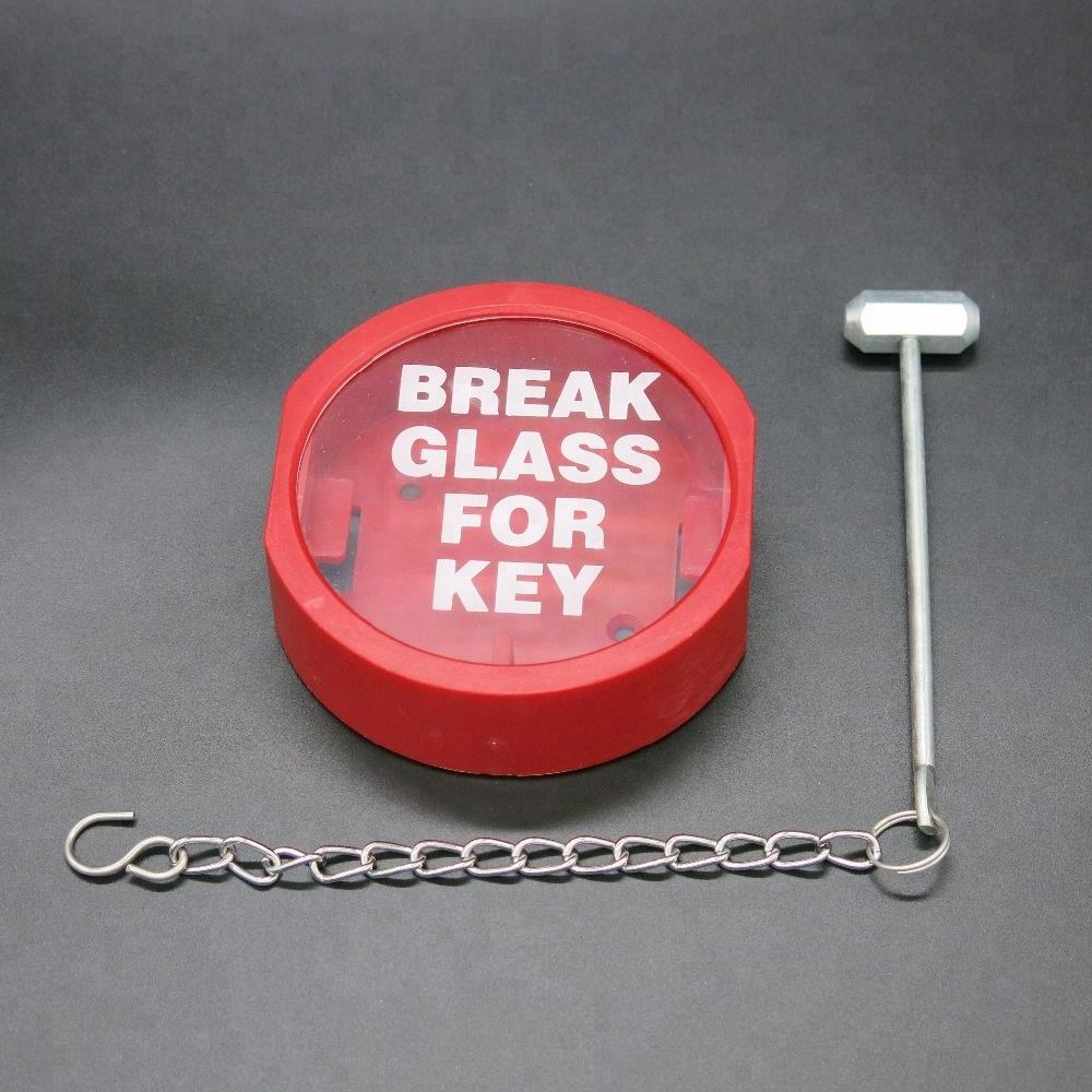 Door Emergency Break Glass for Key