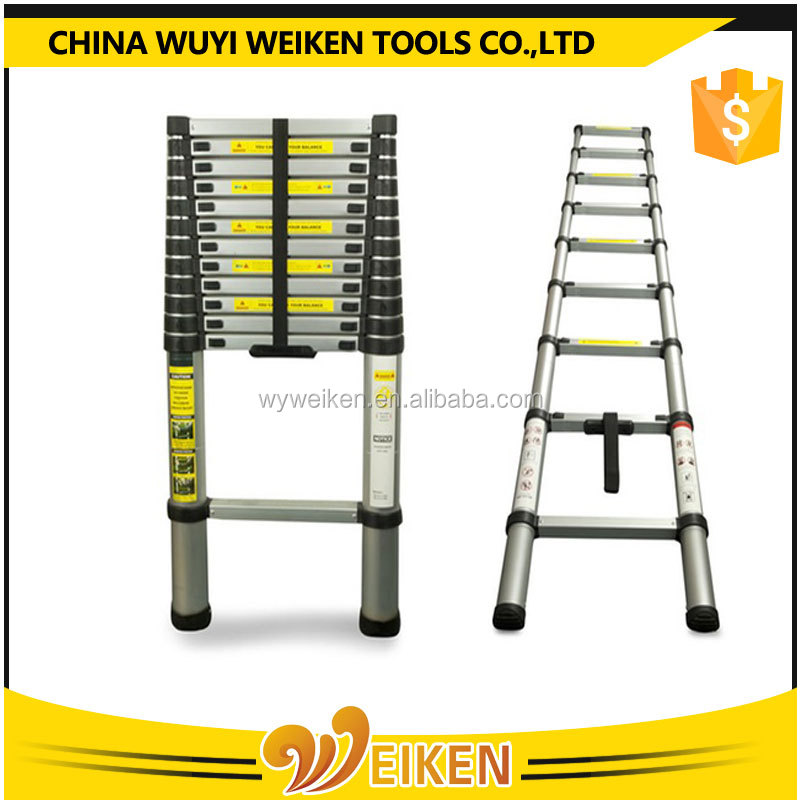 4.4m multifunctional decorative bamboo ladder, aluminum products