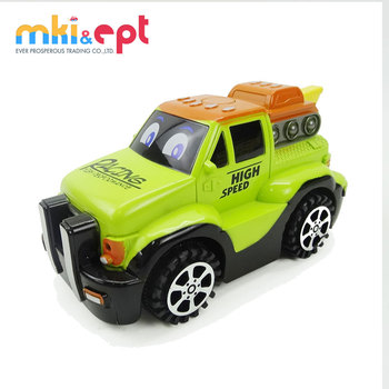 Super power plastic cartoon friction toy truck for sale