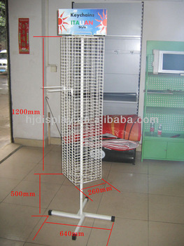 Earring spinner rack wire display spinner racks provo for Provo craft spinner paint rack