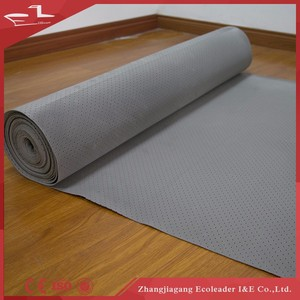 EVA flooring underlayment with poly film barrier for engineering flooring