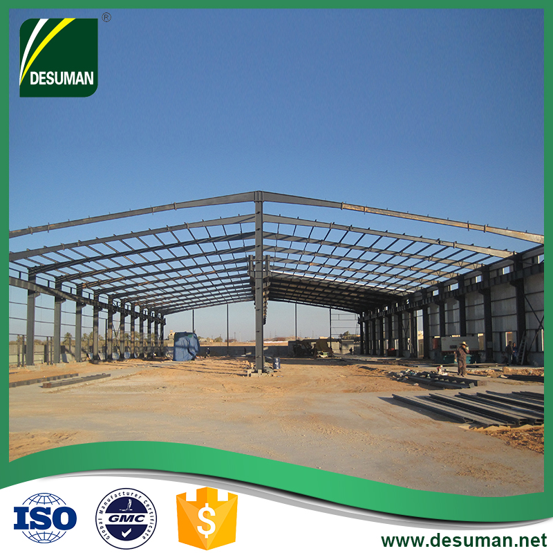 Guangzhou low cost metal structure prefab steel structure warehouse