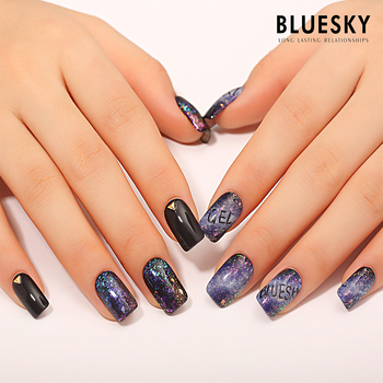 Bluesky New Galaxy Magic Color Gel Nail Polish - Buy Soak Off Gel ...