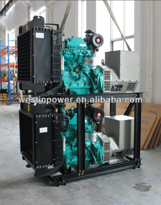 High intelligent silent type yanmar 5kva silent diesel generator with CE certificate