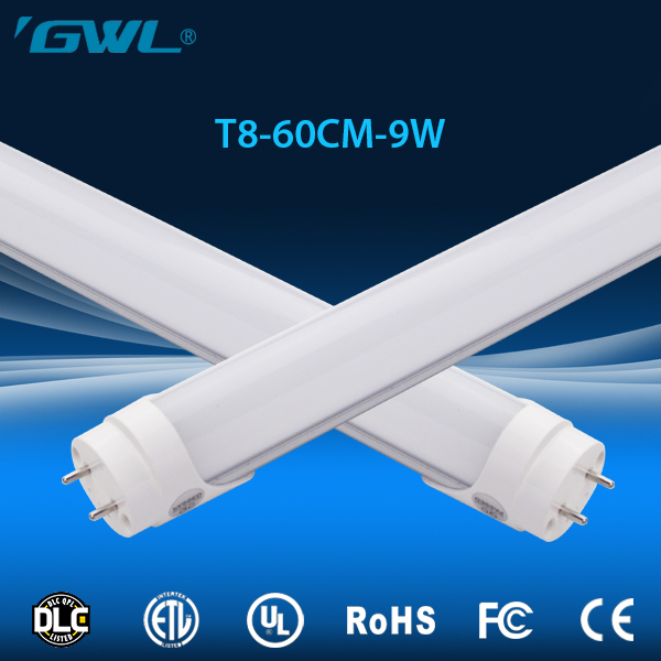 Standard lamp holder G13 and Long lifespan 600mm 9w t8 led tube without mercury