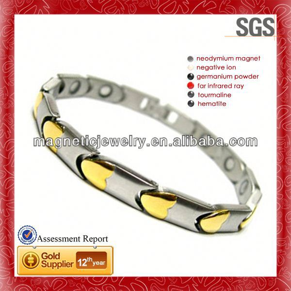 studded graceful shiny poker bracelet as accessory