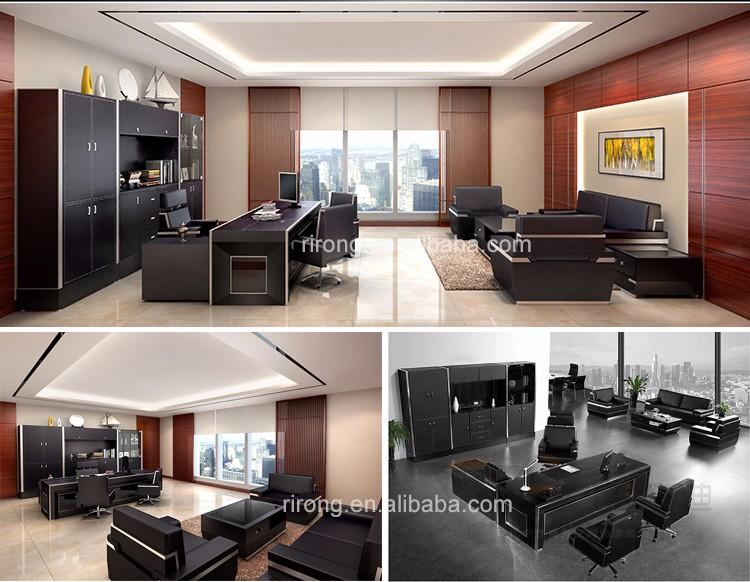 Moderne luxus büro  Luxus Nach Maß Moderne Büro Executive Schreibtisch Ceo Big Boss ...