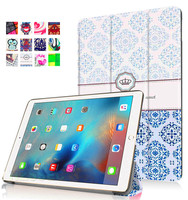 Portfolio-Style Stand Protective Case For Ipad Pro 9.7 Custom Design Leather Tablet Cover