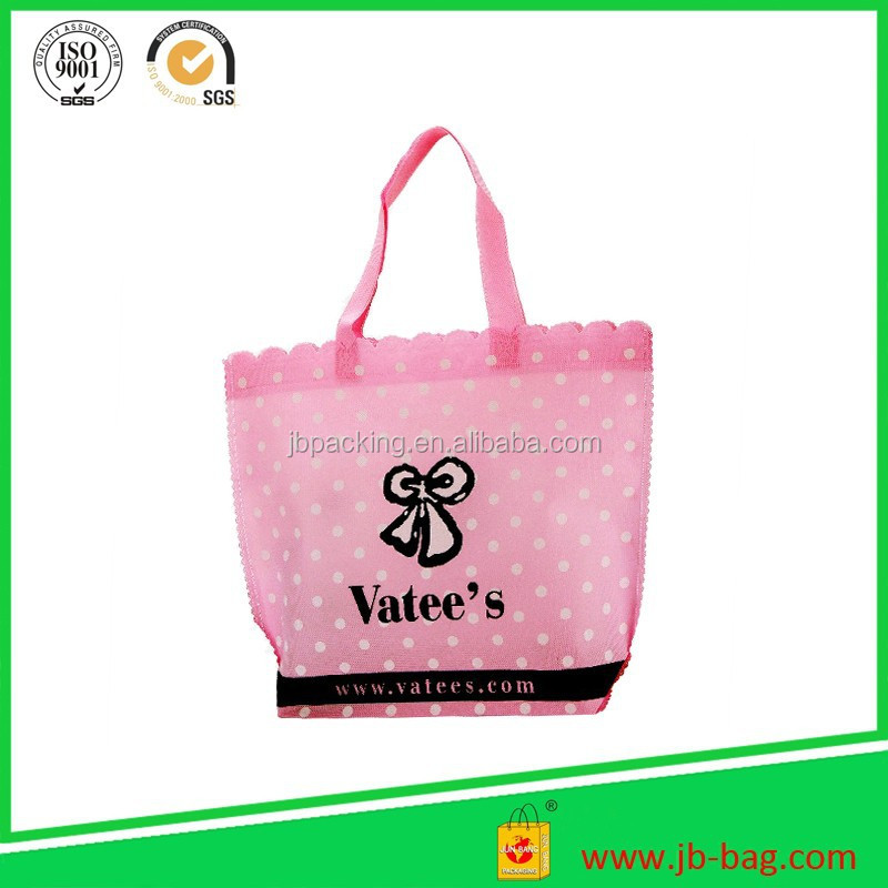 promotion non woven shopping bag for pp lamianted nonwoven bag