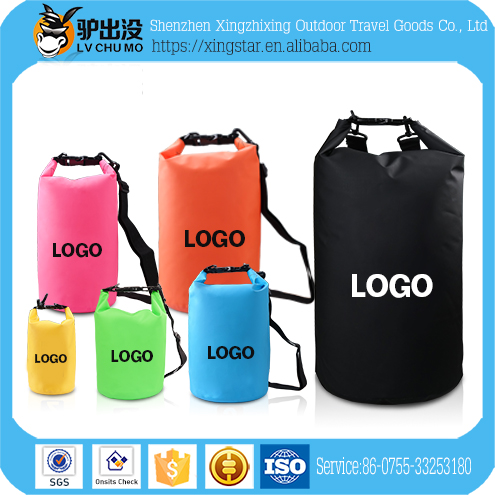 2017 NEW PVC Waterproof Dry Bags 2L 5L 20L Backpack 30L 50L 60L Ocean Pack For Travel Swimming Surfing Camping Hiking Fishing