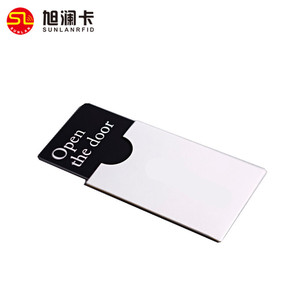 Free sample design 125khz rfid smart t5577 chip access control card plastic hotel door key card