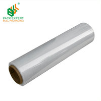 23 micron strech film for pallet shrink wrap film roll