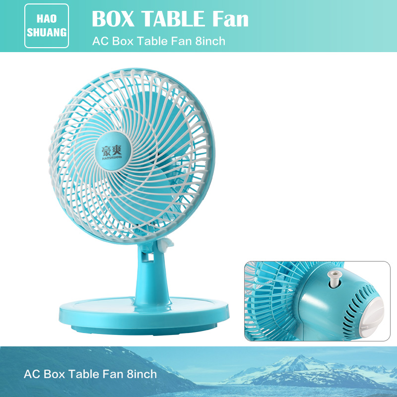 Best High Speed AC Mini Air Blower Table Desk Fan with lower Power Consumption