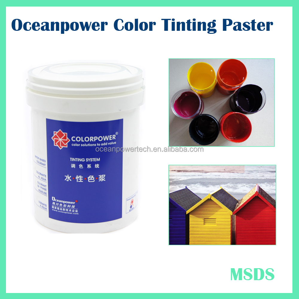 Oceanpower Interior Paint Building Colorant for house painting