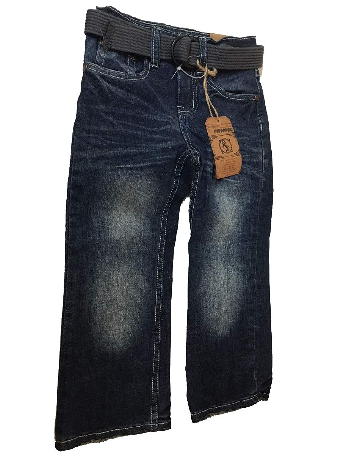 11e947936 Get Quotations · Flypaper Jeans 9134wtbz-Toddler Boys Boot Cut Jeans 2T