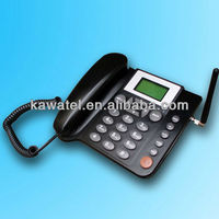 Factory direct gsm fixed wireless phone with phone book