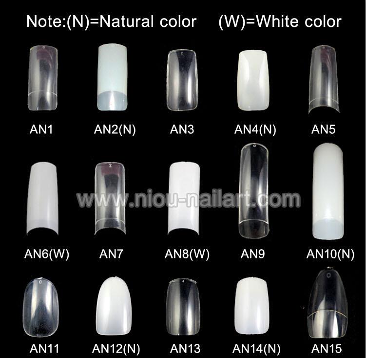 Tszs White Stiletto French Nail Tips Wholesale Sharp Nail Art Tips ...