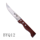 Kitchenware meat stainless steel knife with the three nail wood handle