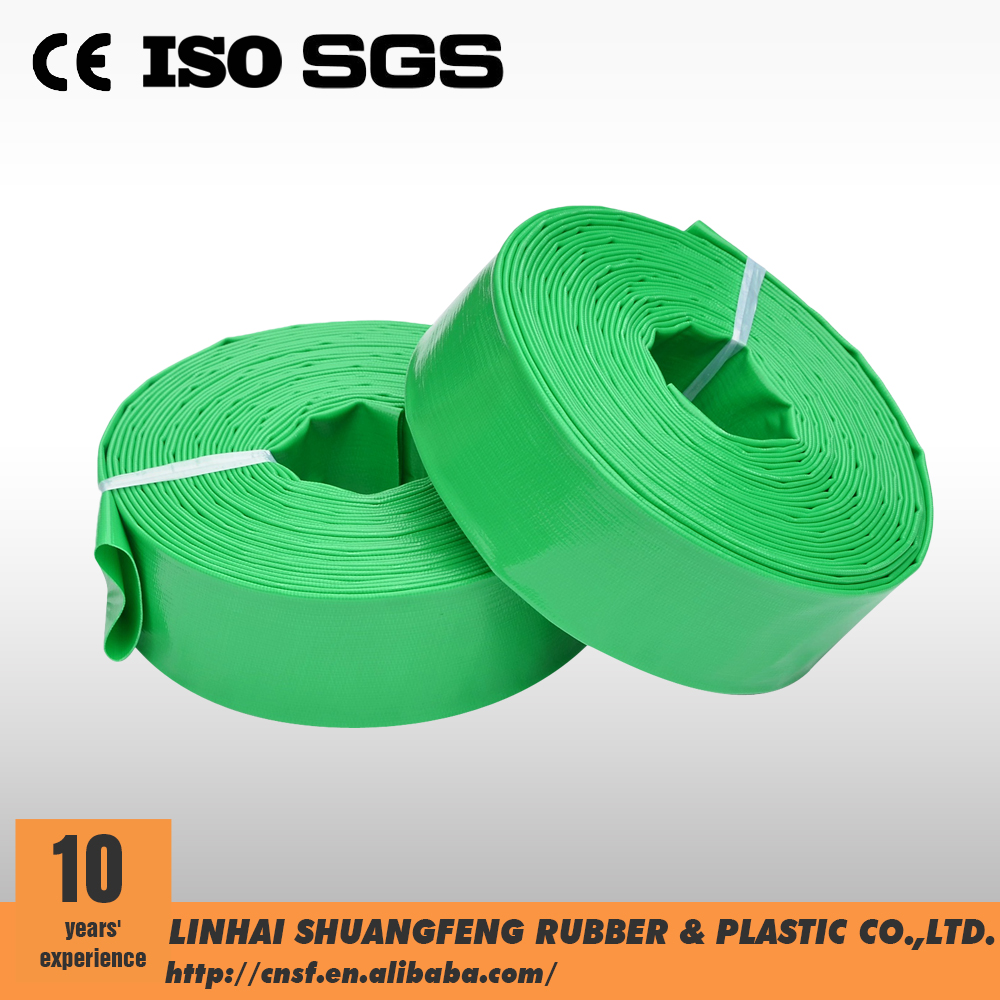 china supplier colorful sizes lay flat hose reels price