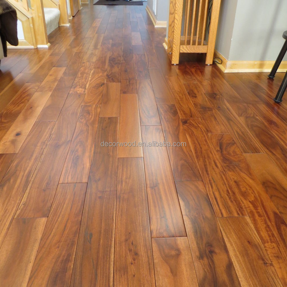 Newest Design Royal Acacia Wood Floors Brushed Solid View Decor Product Details From Guangzhou