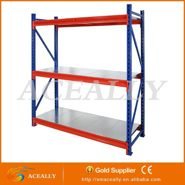 Despensa de metal largo span shelving