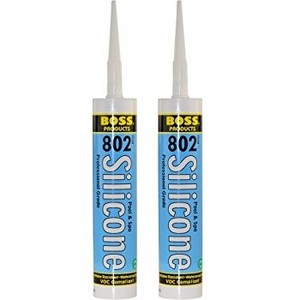 transparent silicone Sealant cartridge 300 ml 280ml