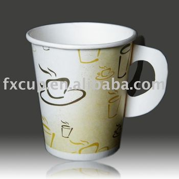 Disposable And Eco-friendly Wholesale Paper Coffee Cups - Buy Wholesale  Paper Coffee Cups,Coffee Paper Cup With Handle,Paper Tea Cups With Handle