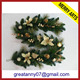 New year christmas garland xmas wreath decorations 2016 led light christmas garland