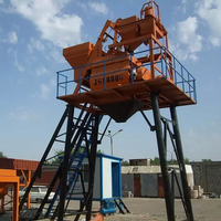 Concrete mixing plant mobile batching price for sale